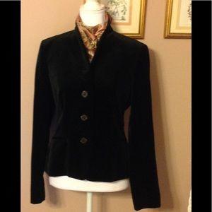 NWOT Lauren Ralph Lauren velvet fitted jacket.